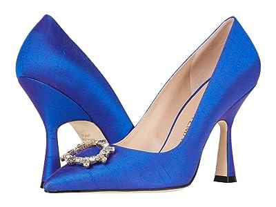 Stuart Weitzman Mindee 100 Crystal (Royal Blue) Women