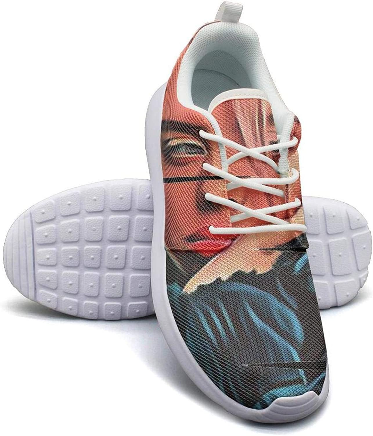 Gym shoes for Man Highly billie-eilish-art-1- Running shoes