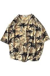 Hokny TD Men Short Sleeves Irregular Hem Hipster Hip Hop T Shirt
