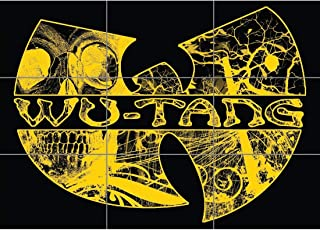 Wu Tang Clan Poster - Hip Hop Giant Art Print NC6264