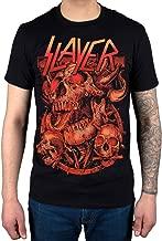 Official Slayer Three Skulls 2014 Dates T-Shirt