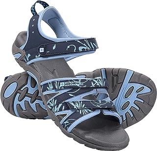 Suela de Goma para Caminar Vacaciones Correas Ajustables Playa Mountain Warehouse Sandalias para Mujer Santorini Viajar Plantilla Acolchada