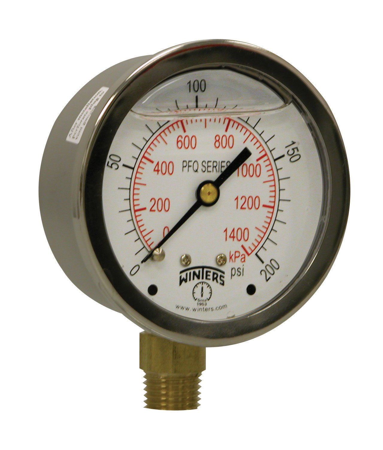 Seasonal Wrap Introduction Max 56% OFF Winters PFQ Series Stainless Steel 304 Filled Scale Liquid Dual