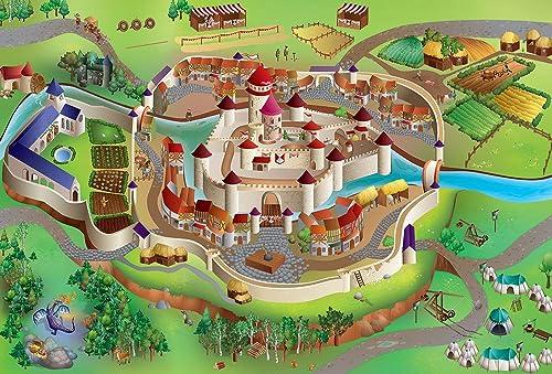 Tapis De Jeu  chateau Fort  [Jouet]