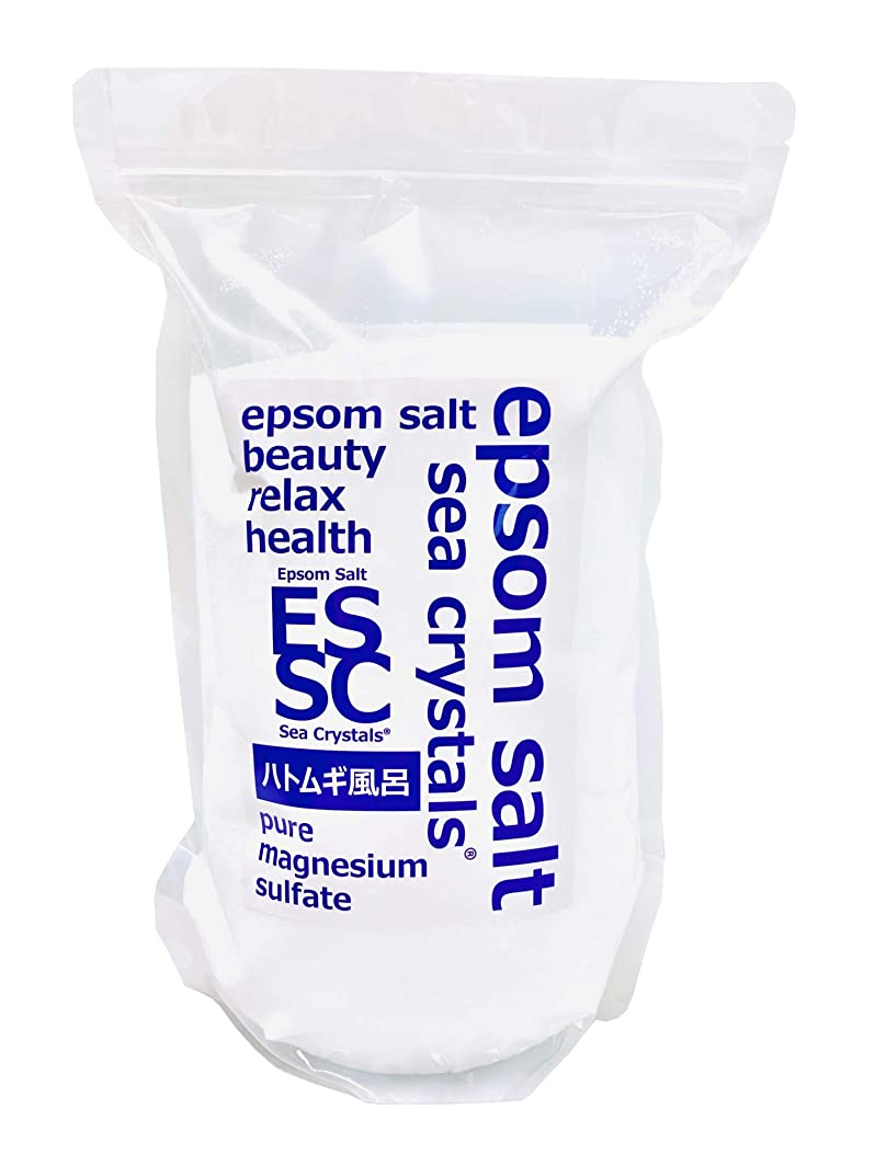アナロジー温度パントリー【Amazon.co.jp限定】 Sea Crystals(シークリスタルス) ハトムギ風呂 入浴剤 White 2.2kg