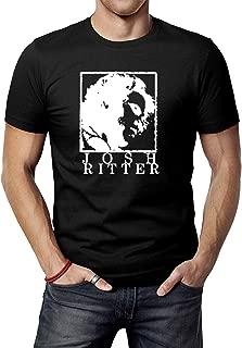 Men's Black Josh Ritter Josh Ritter T-Shirt Tee Shirt
