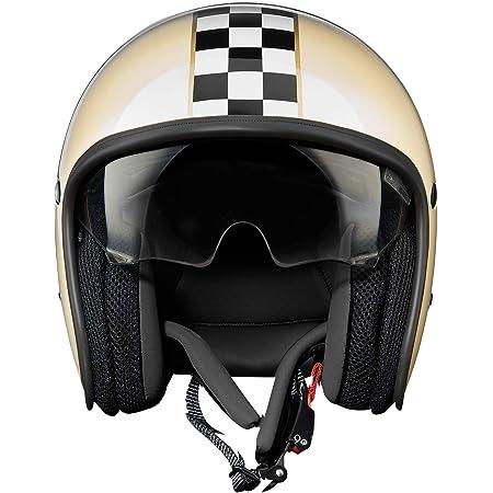 Premier Helm Vintage Ck Light Beige Weiss Schwarz Xl Auto