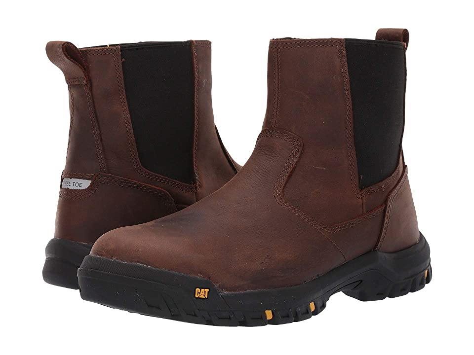 Caterpillar Wheelbase Steel Toe (Clay Leather) Men