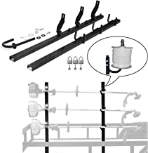 CNSY 3 Place PK-6 Weedeater Trimmer Racks with Lock for Open Landscape Trailer