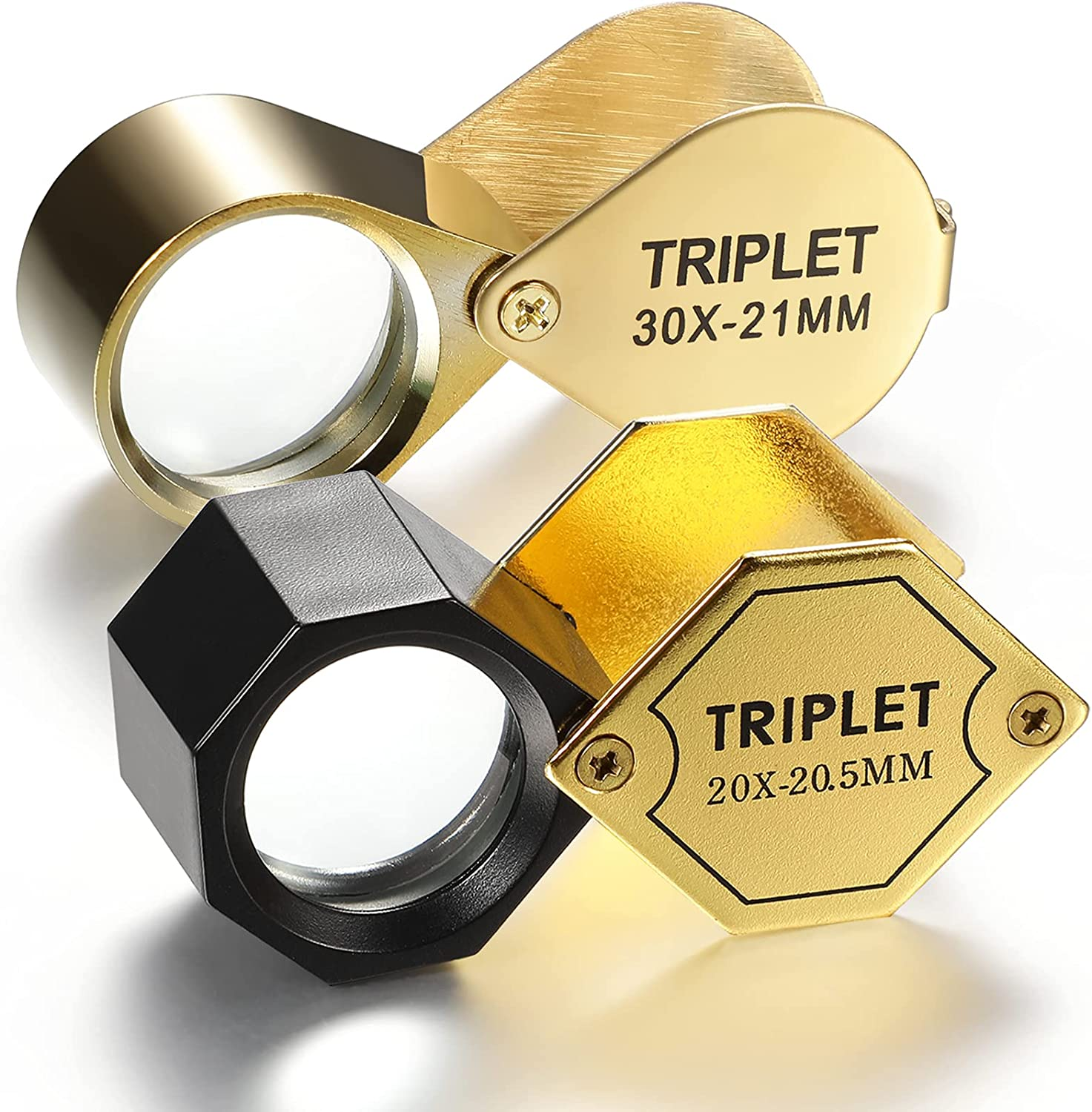 2 Pieces Jeweler Loupe Loop Translated Glass Jewelers Magnifying Pocket 55% OFF Eye