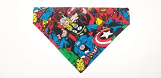 Marvel Hero Pet No-Tie Bandana