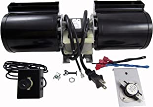 Tjernlund GFK160 Fireplace Blower Kit for Heat N Glo, Hearth and Home, Quadra Fire