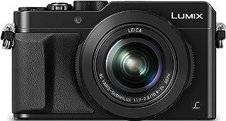 Panasonic Lumix DMC-LX100 - Cámara Compacta Premium de 12.8 MP (Sensor de 4/3 Objetivo F1.7-F2.8 de 24-75 mm Zoom de 3X 4K WiFi Raw) Color Negro