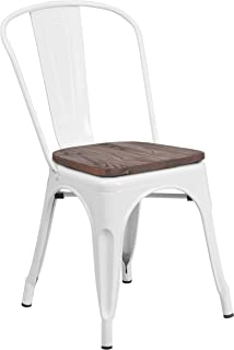 Best white wood dining room chairs Reviews