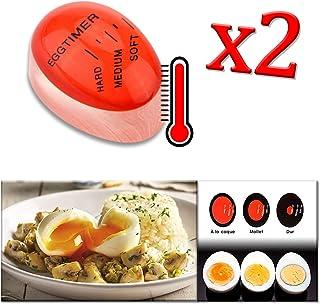 Produits pour Maison//Cuisine JER Compte /à rebours de Cuisine Cuisson minuterie 60 Minutes Mignon Cuisine Egg Timer Violet Veau