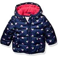Carter's Baby Girls Fleece Lined Puffer Jacket Coat