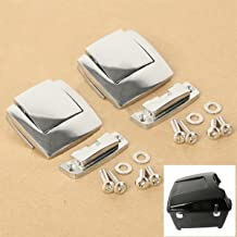 Chrome Tour Pack Pak Latches For Harley Touring Classic Electra Road Glide 80-13