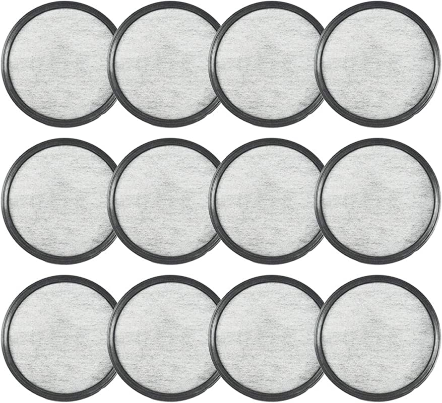 ALTME MR Coffee Water Filter Replacement Discs Compatible Water Filters Universal 12 Replacement Charcoal Water Filters For MR Coffee Machines