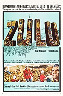 ZULU (1964) Original Authentic Movie Poster - 27x41 One Sheet - Single-Sided - FOLDED - Jack Hawkins - Michael Caine - James Booth - Stanley Baker