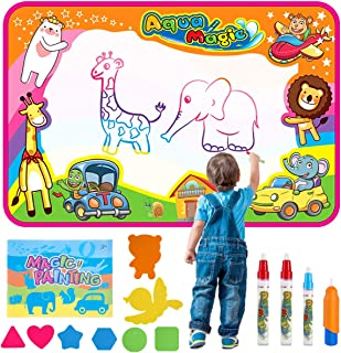Baby Noah Aqua Magic Doodle Mat for Kids (Drawing on Magic Water Mat) Mess Free Painting for Toddler, Painting Board Suitable for Family Kids Activity Center Paint & Design Toy for Kids