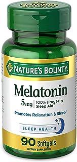 Nature'S Bounty - Super Strength Melatonin 5 Mg. 90 Softgels