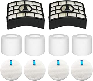 Colorfullife NV752, AZ1002 Filters for Shark Rotator Powered Lift-Away Vacuum AZ1002, NV650, NV650W, NV651, NV652, NV750, ...