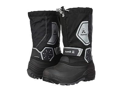 Kamik Kids Icetrack (Toddler/Little Kid/Big Kid) (Black/Charcoal) Boys Shoes