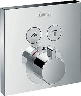 hansgrohe 汉斯格雅 ShowerSelect温控器,暗装,双功能,镀铬