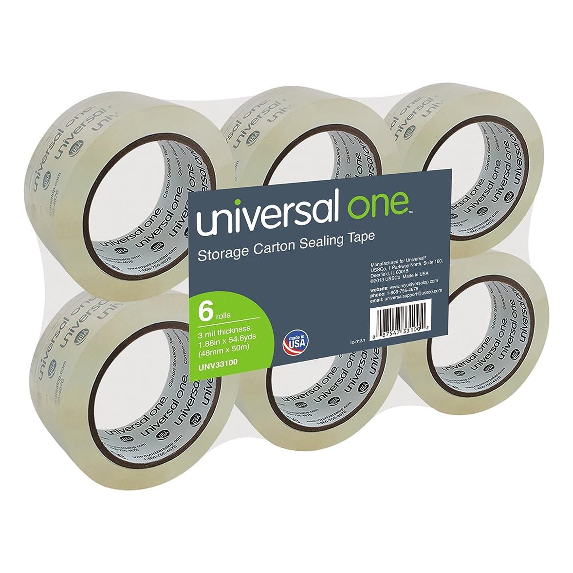 スクリーチ収束次へUniversal Superior パッキングテープ (33100)