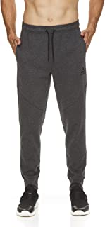 Reebok Men's Jogger Running Pants with Pockets - Athletic Workout Training & Gym Sweatpants