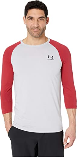 Sportstyle Left Chest 3/4 Tee