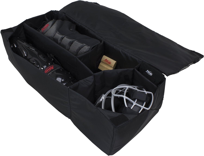 Adams USA Adams Umpire Equipment Organizer Bag Insert BK ADMORGBK, Black