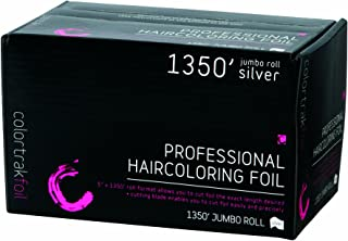 Colortrak Professional Highlighting Foil Roll, Silver (1350')