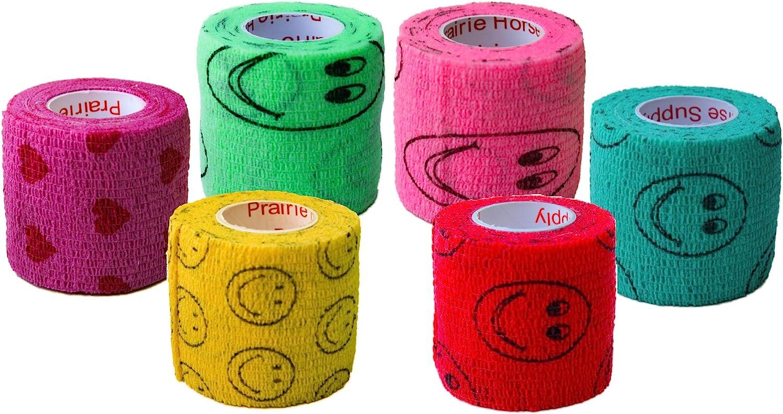 Max 46% OFF 2 Inch Regular store Vet Wrap Tape Bulk Assorted or 12 6 Colors 18 Pa 24