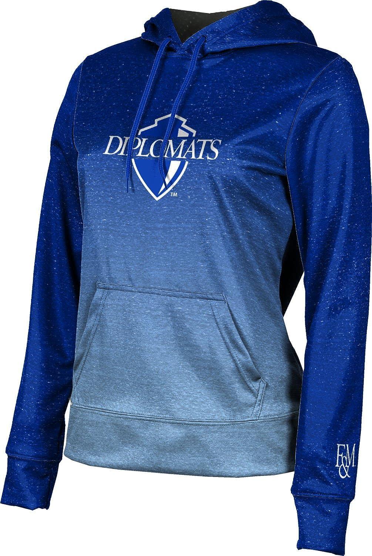 ProSphere Franklin & Marshall College Girls' Pullover Hoodie, School Spirit Sweatshirt (Gradient)