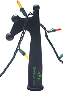 EVERSPROUT Utility Hook | Installing and Hanging Christmas Lights, Bird feeders, Reaching High Places | Lightweight, Fits on 3/4 inch Acme Thread Pole Tips (Hook Only, No Pole)
