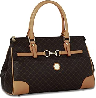 Hjyi Women Handbag,Fashionable Top-Handle Bag Shoulder Bag Leather Satchel Handbags