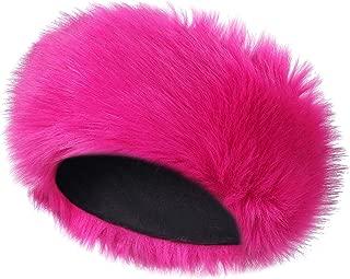 Caracilia Faux Fur Headband Women's Winter Earwarmer Earmuff Hat Ski