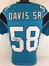 Thomas Davis Sr signed autographed jersey JSA Panthers