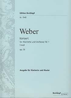 Weber: Clarinet Concerto No. 1 in F Minor, Op. 73