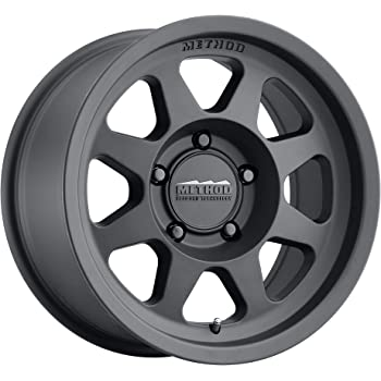 "Method Race Wheels 701 Matte Black 17x8.5"" 5x5"", 0mm offset 4.75"" Backspace, MR70178550500"