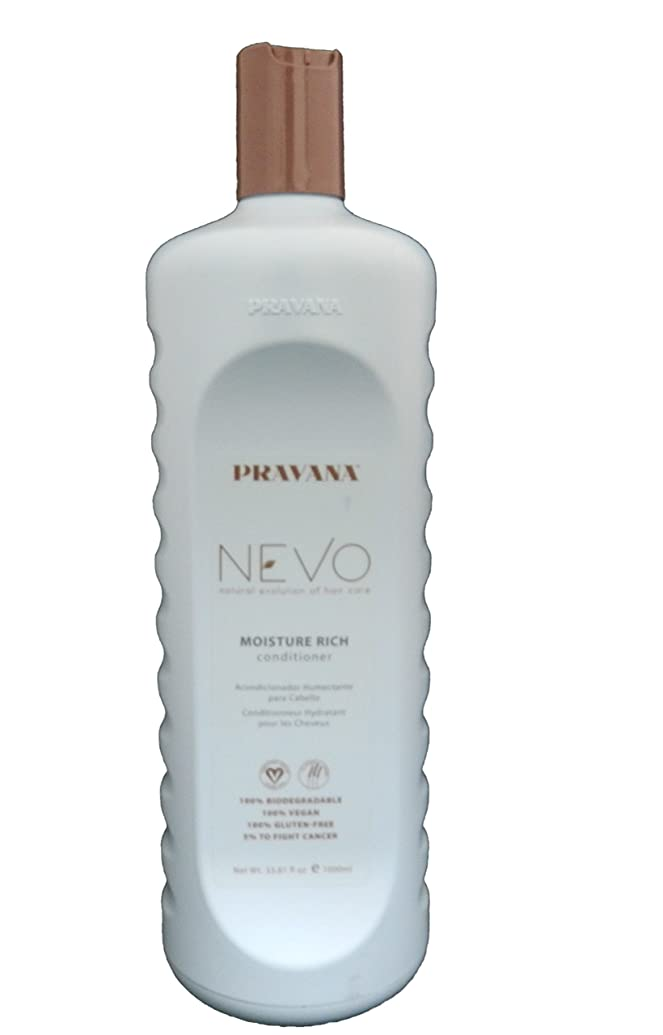 故意の口頭売り手Pravana Nevo Moisture Rich Conditioner - 33.8 oz