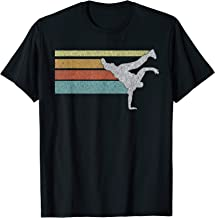 Vintage look Hip Hop BBOY breakdance T-shirt