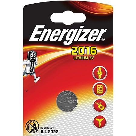 Energizer Battery Cr2016 Lithium 1 Pak 235253 Kamera