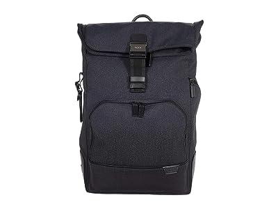 Tumi Harrison Osborn Roll Top Backpack (Charcoal Ombre) Backpack Bags