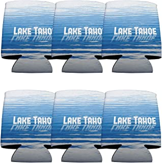 VictoryStore Can and Beverage Coolers: Lake Tahoe Can Coolers, Set of 6