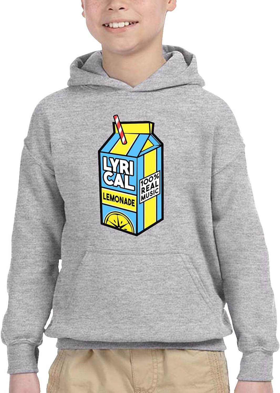 Lyrical Lemonade Kids Hooded Sweater Casual Sweater For Baby Boys Girls
