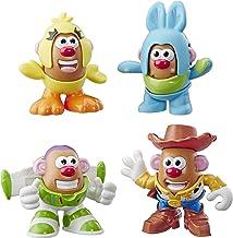 Mr Potato Head Disney/Pixar Toy Story Mini 4 Pack Buzz, Woody, Ducky, Bunny Figures Toy..