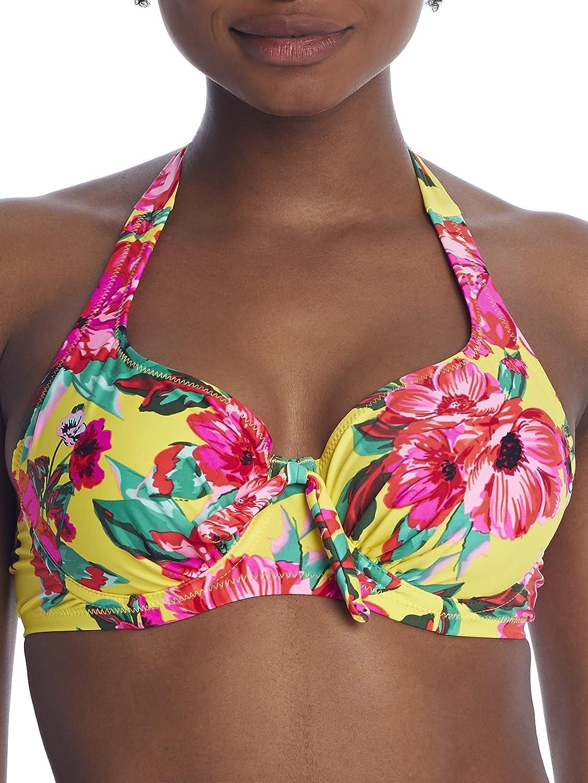 Heatwave Mimosa Halter Underwire Bikini Top