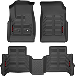 Gator 79609 Black Front and 2nd Seat Floor Liners Fits 15-19 Colorado/Canyon Crew Cab